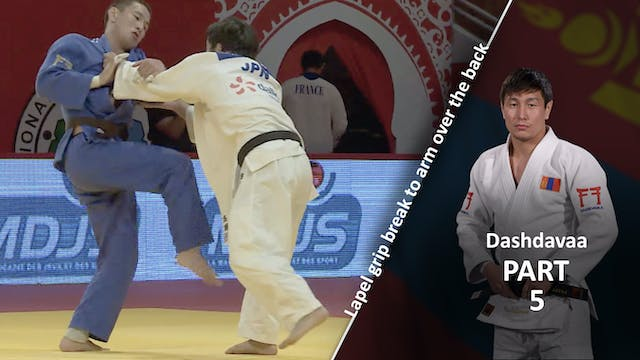 Lapel grip break - Competition vs lef...