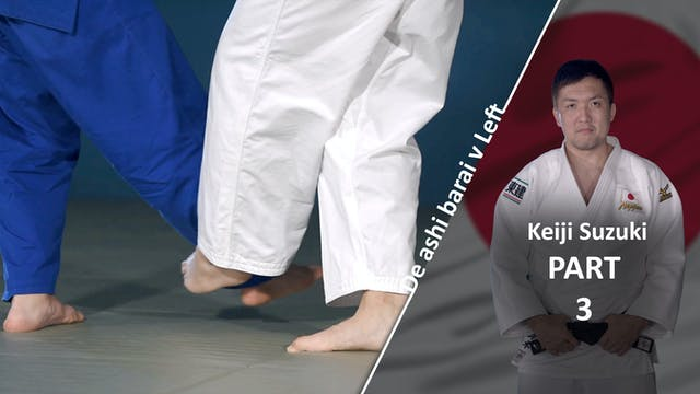 Lower Body vs left | Keiji Suzuki