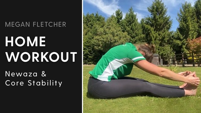 Newaza & Core Stability | Megan Fletcher | Home Workout