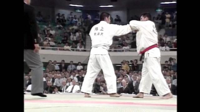 Kosei Inoue - Ouchi gari against left handed opponents