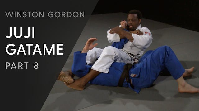 Juji gatame - Applying the lock from ...