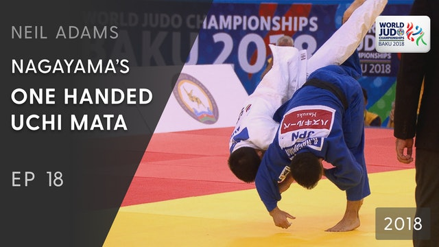 Nagayama's one handed Uchi mata | Neil Adams