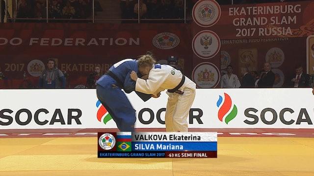 101: Yoko tomoe nage - RUS v BRA -63kg