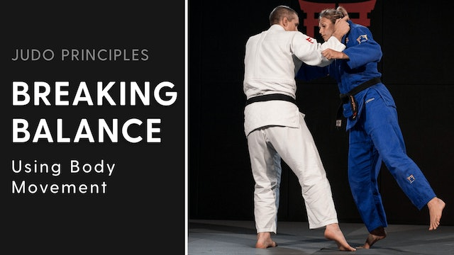 Using body movement | Judo Principles