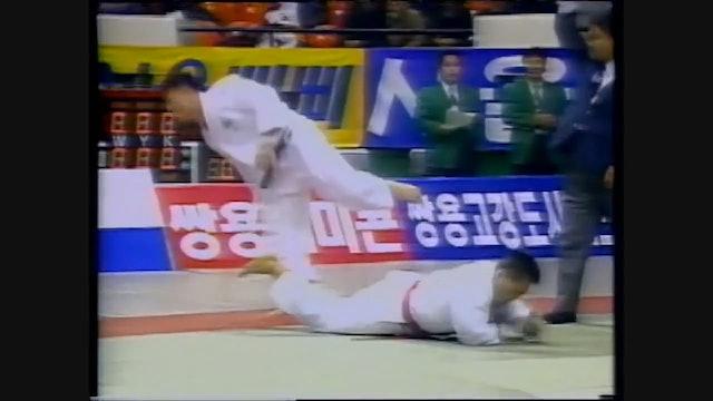 Uchi mata maki komi - left v left | Jeon