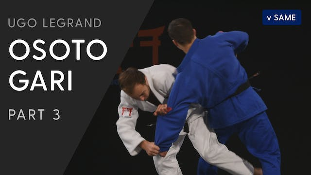 Osoto gari - Cross grip vs same | Ugo...