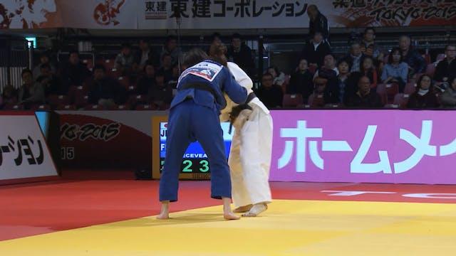101: Uchi mata - JPN v FRA -57kg