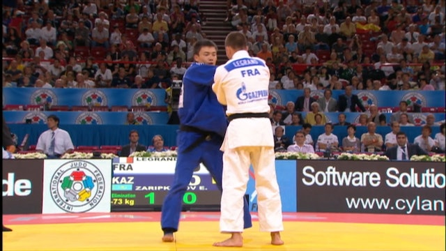 Kumi kata - Controlling the sleeve in competition vs same | Ugo Legrand