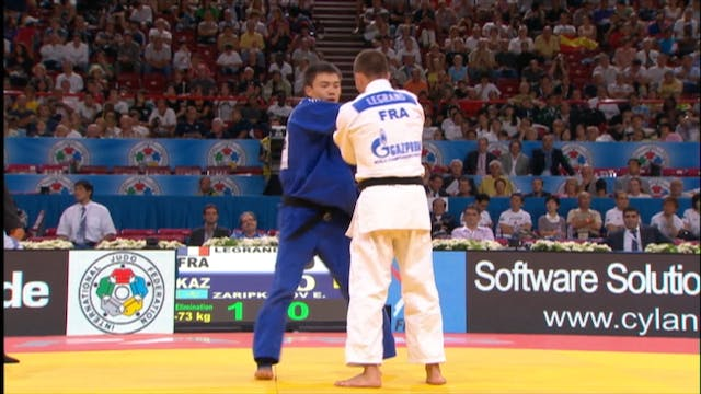 Kumi kata - Controlling the sleeve in...