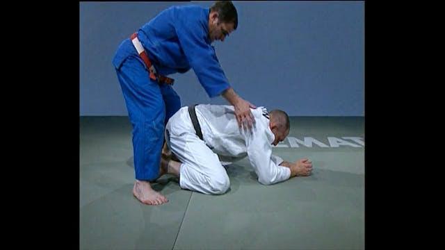 Neil Adams - Hadaka jime - Leg stretch