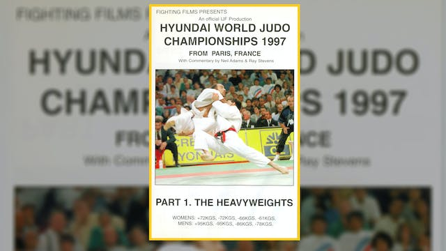 1997 World Judo Championships: Heavyw...