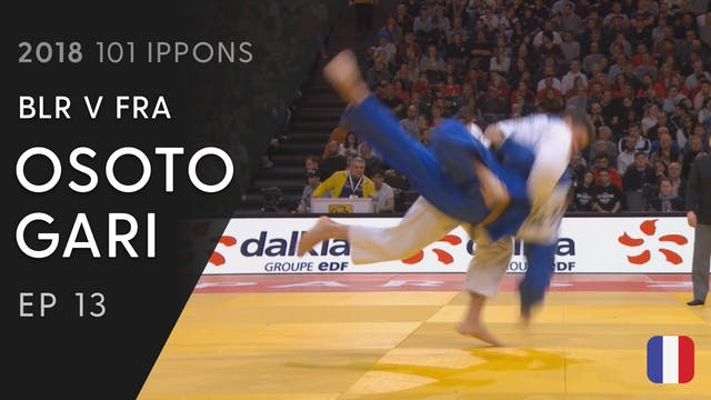 101: Osoto gari - BLR v FRA -100kg
