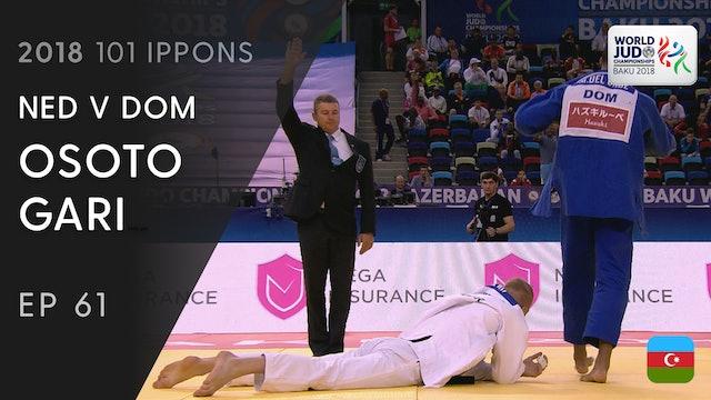 101: Osoto gari - NED v DOM -81kg
