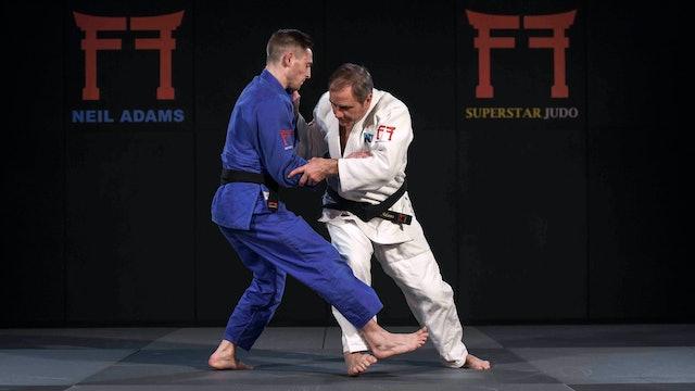 -60kg Beslan Mudranov's (RUS) attacks off the grip | Neil Adams | Rio 2016
