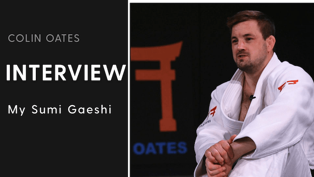 My Sumi Gaeshi | Interview | Colin Oates