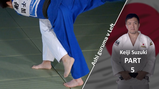 Breaking Balance VS Left | Ashi Guruma | Keiji Suzuki
