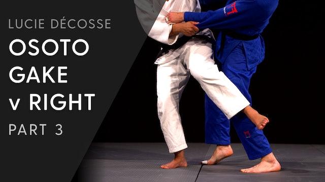 Leg placement & Ken ken variation | Ososto gake | Lucie Décosse