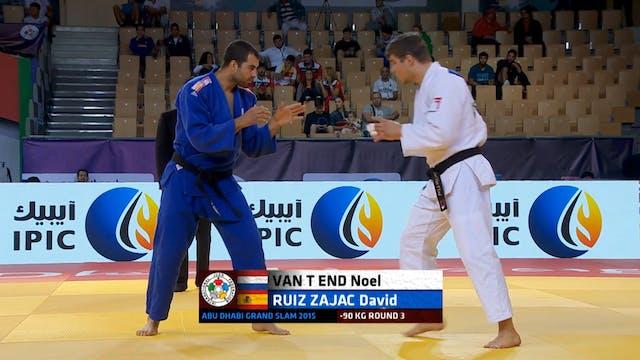 101: Kouchi gari - NED v ESP -90kg