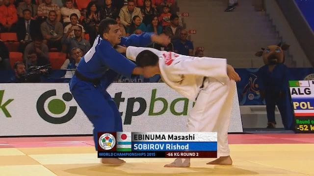 101: Countering uchimata - JPN v UZB -66kg