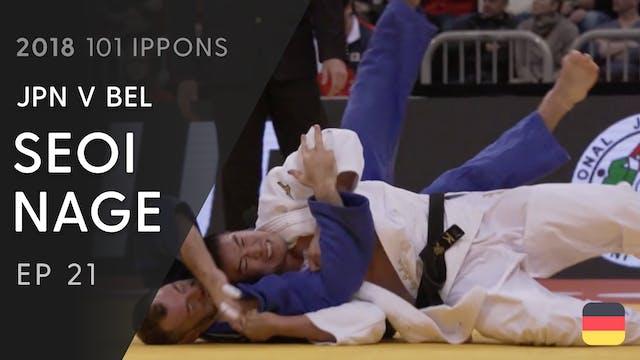 101: Seoi nage - JPN v BEL -90kg
