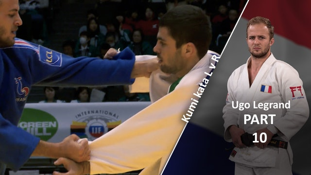 Kumi kata - Pinning The Sleeve, forearm grip in competition | Ugo Legrand