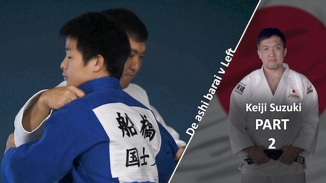 Upper body vs left | Keiji Suzuki