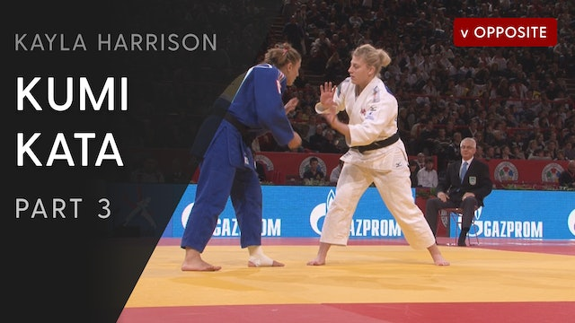 Kumi kata vs Opposite - Competition examples | Kayla Harrison