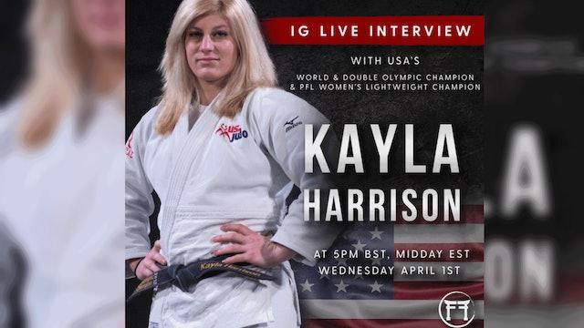 IG Live With Kayla Harrison