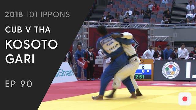 101: Kosoto gari - CUB v THA -90kg