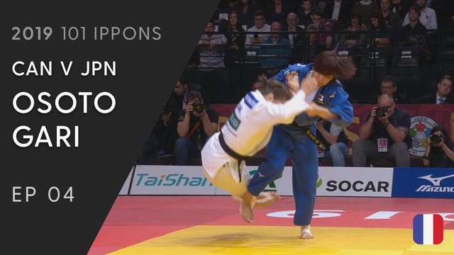 101: Osoto Gari - CAN v JPN -63kg
