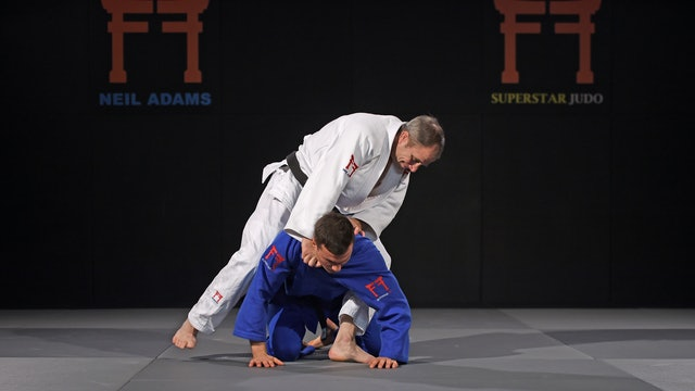 Two Shime waza used in Abu Dhabi GS | Neil Adams