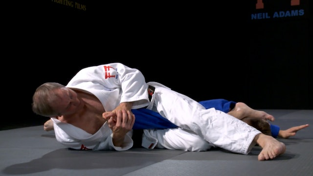 Lee's Juji gatame control | Neil Adams