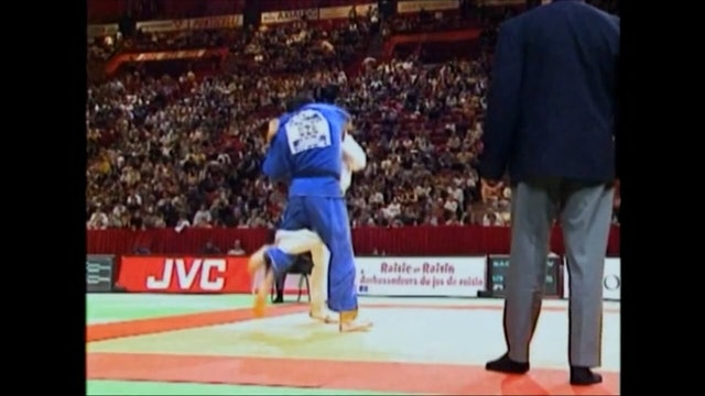 Ouchi gari against right | Inoue (FRA)