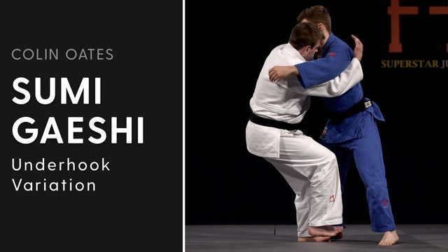 Underhook Variation | Sumi Gaeshi | Colin Oates