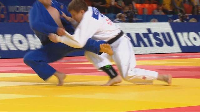 101: Tani otoshi / juji gatame - RUS v CZE -81kg