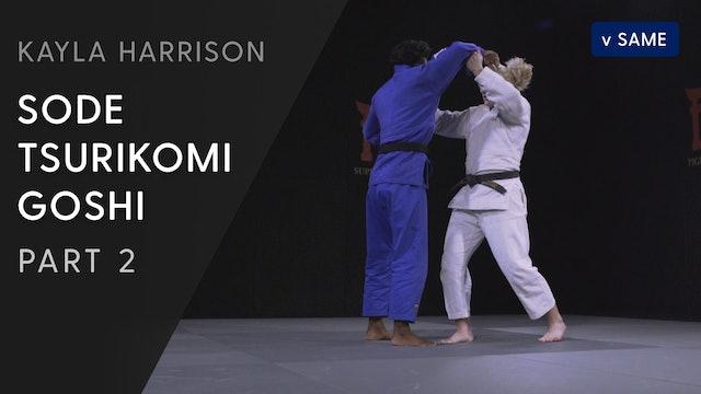 Sode tsurikomi goshi - Step by step vs same | Kayla Harrison