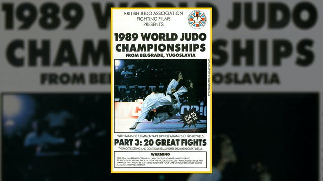 1989 World Judo Championships: 20 Gre...