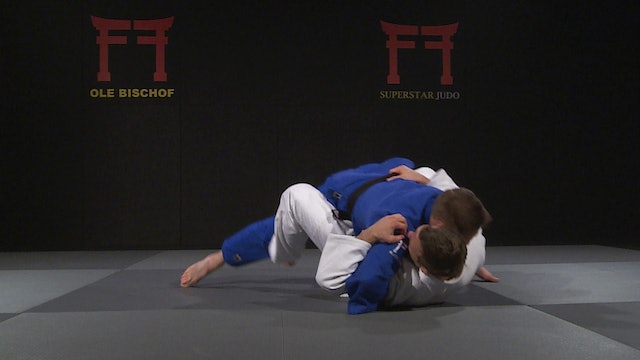 Newaza roll - Change of direction variation | Ole Bischof