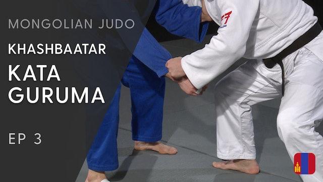 Kata guruma - Creating space and leg placement | Khashbaatar