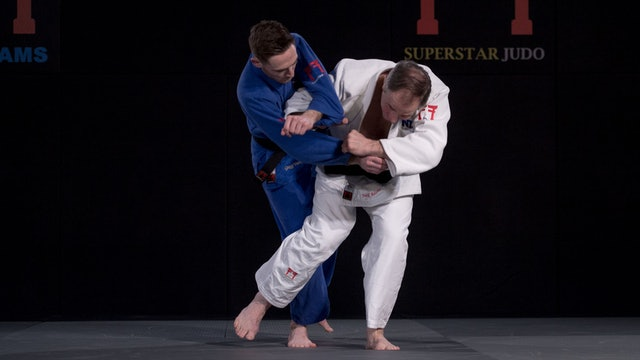 Fonseca's double sleeve grip for Osoto gari | Neil Adams