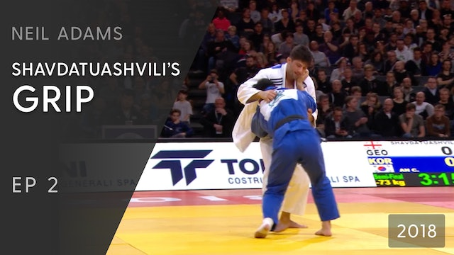 Shavdatuashvili's grip | Neil Adams