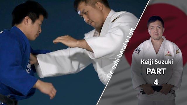 Left hand free vs left | Keiji Suzuki