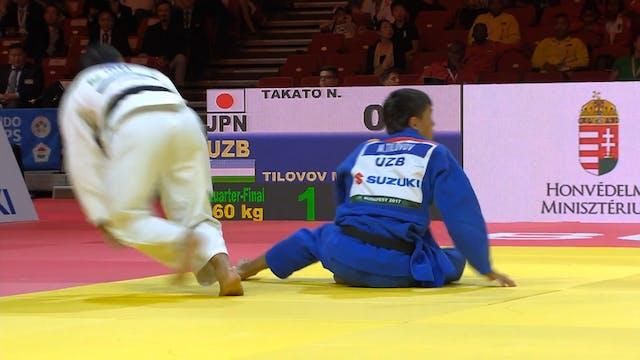 101: Sumi otoshi - JPN v UZB -60kg