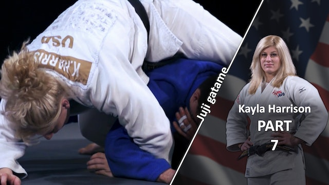 Juji gatame off the front | Kayla Harrison
