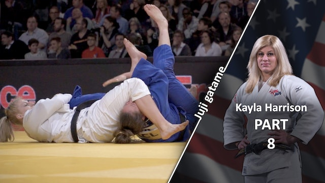 Juji gatame - Competition variations | Kayla Harrison