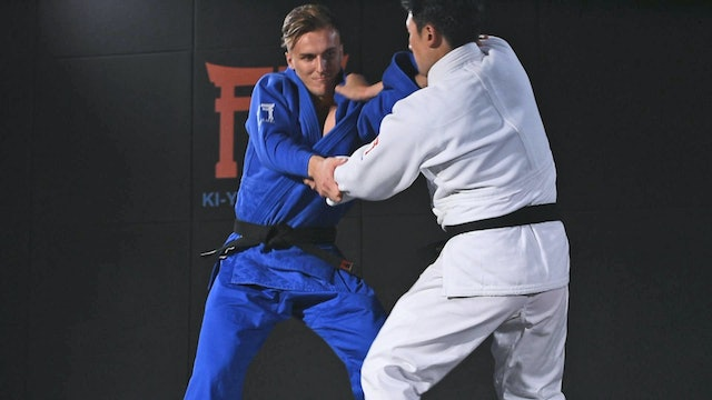 Switching from left to right Seoi | Korean Judo