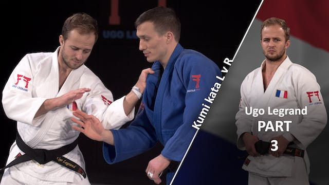 Kumi kata - Controlling the lapel, us...