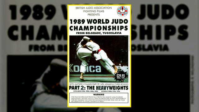 1989 World Judo Championships: Heavyw...