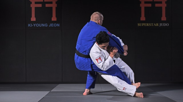 Sode tsurikomi goshi Kouchi makikomi | Korean Judo