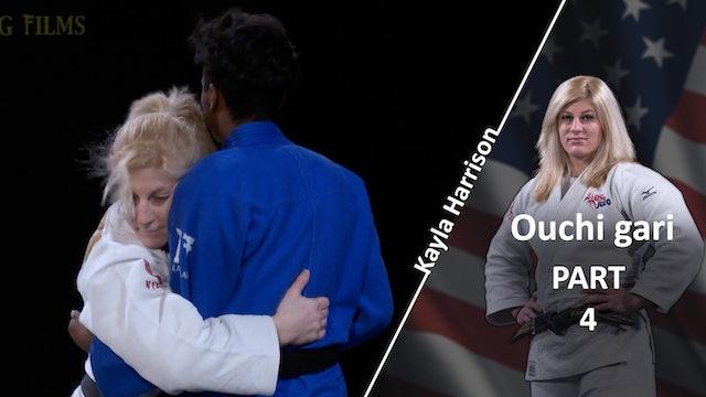 Ouchi gari - Upper body vs Same | Kayla Harrison